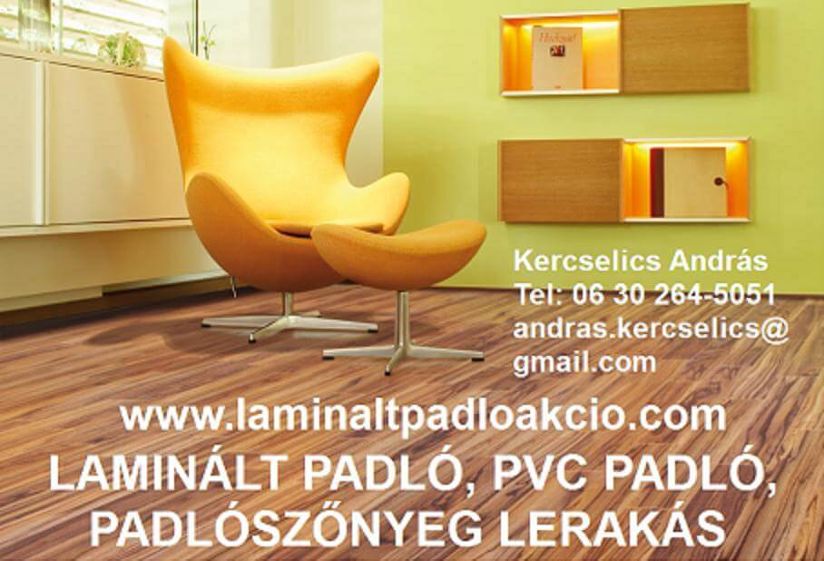 Laminált padló Kistarcsa