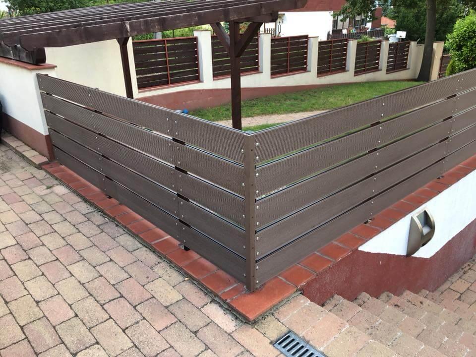 wpc kerítés készítés