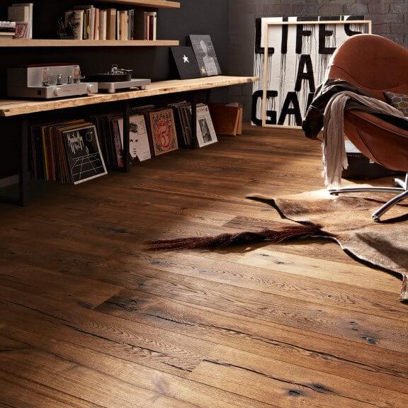 Szalagparketta vagy laminált padló