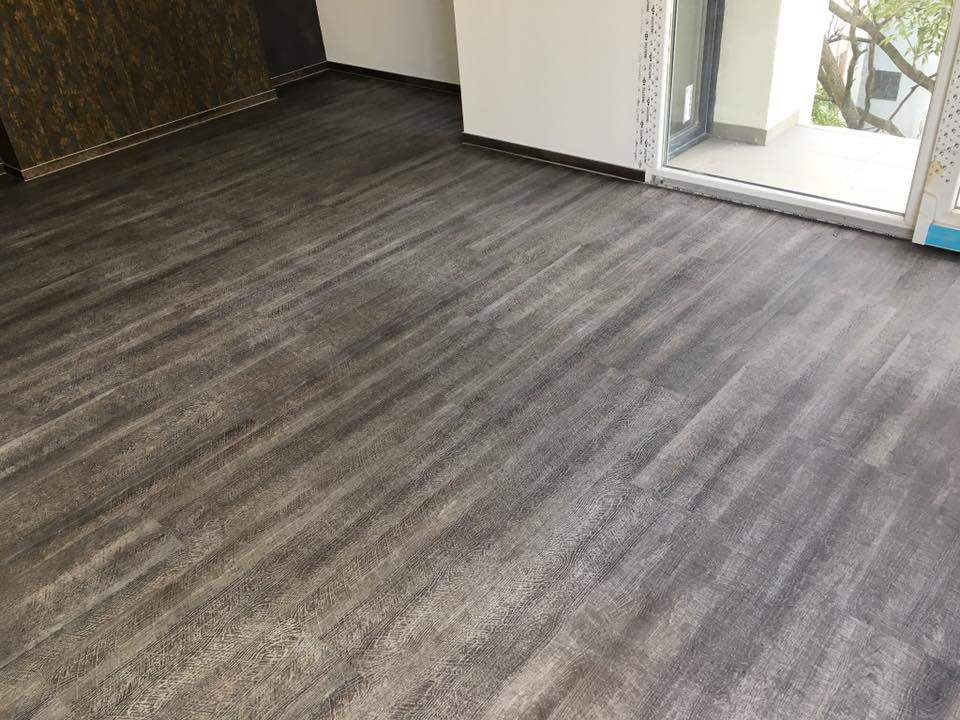 vinyl padló lerakása járólapra